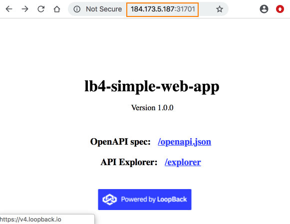 Deploying to Kubernetes on IBM Cloud | LoopBack Documentation